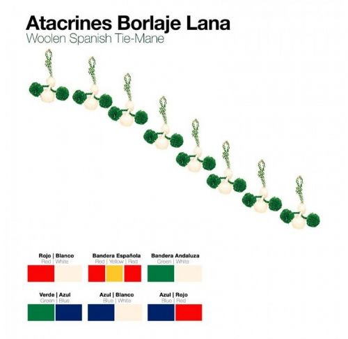 Atacrines - Woollen mane ornaments or pompoms